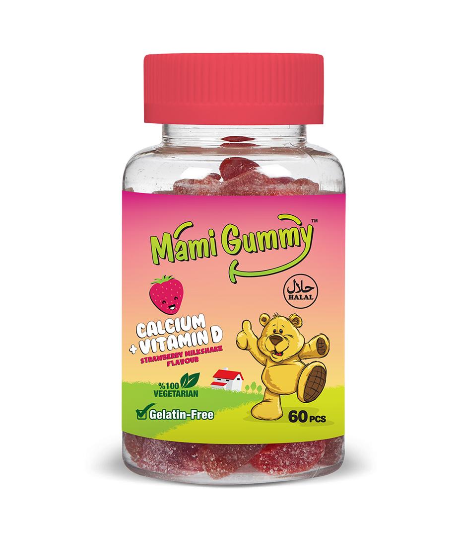 Mami Gummy Calcium +Vitamin D