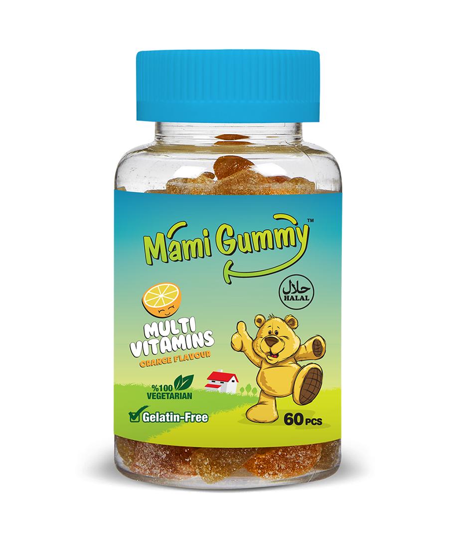 Mami Gummy Multivitamins  – Orange
