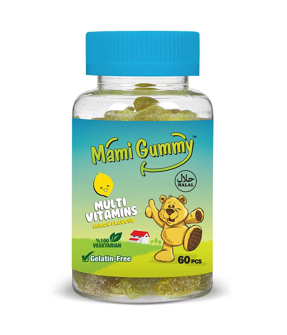 Mami Gummy Multivitamins  – Lemon
