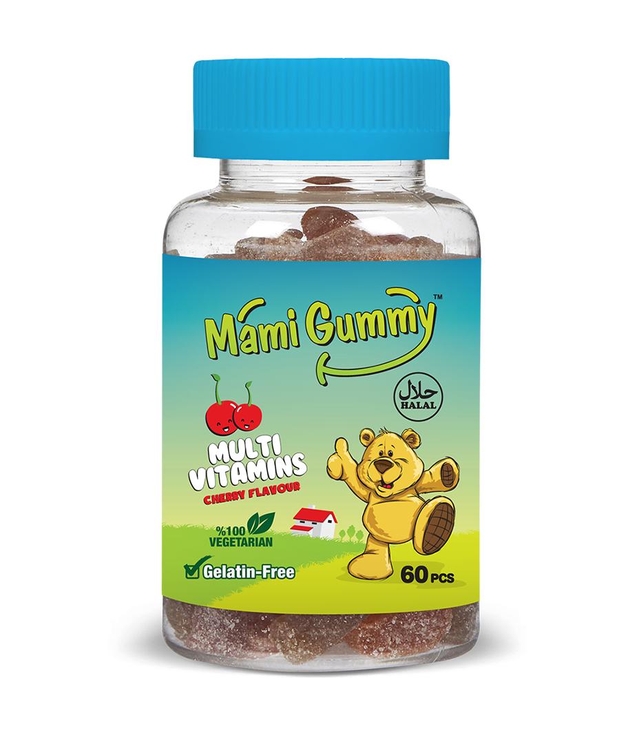 Mami Gummy Multivitamins  – Cherry